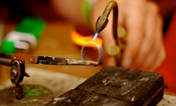 The Den - Stockyards: Make-Your-Own Rings & Bangles Workshop for One or Two at The Den (50% Off)