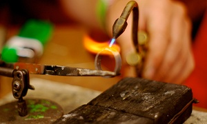 The Den: Make-Your-Own Rings & Bangles Workshop for One or Two at The Den (50% Off)