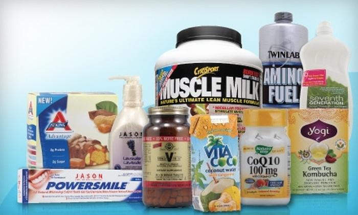Vitacost.com: $15 for $30 Worth of Vitamins, Supplements, and Organic Groceries from Vitacost.com