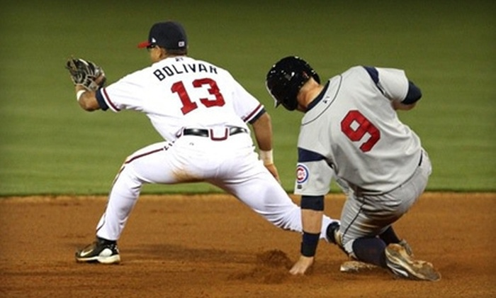 Mississippi Braves - Pearl: $37 for Two Dugout Seat Tickets and More to the Mississippi Braves Minor League Baseball Game on April 9 ($77 Value)