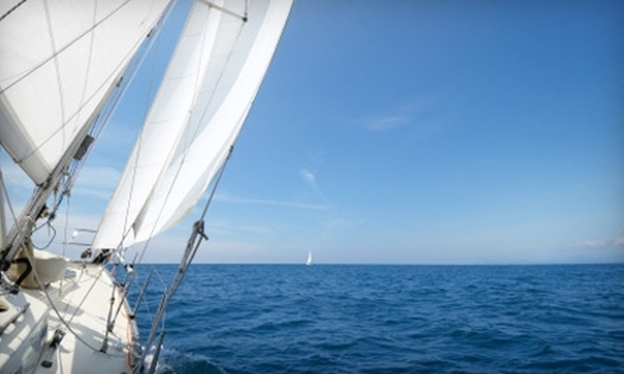 Sailing Ventures - South Lake Tahoe: $69 for an Introduction to Sailing Lesson at Sailing Ventures in South Lake Tahoe ($140 Value)