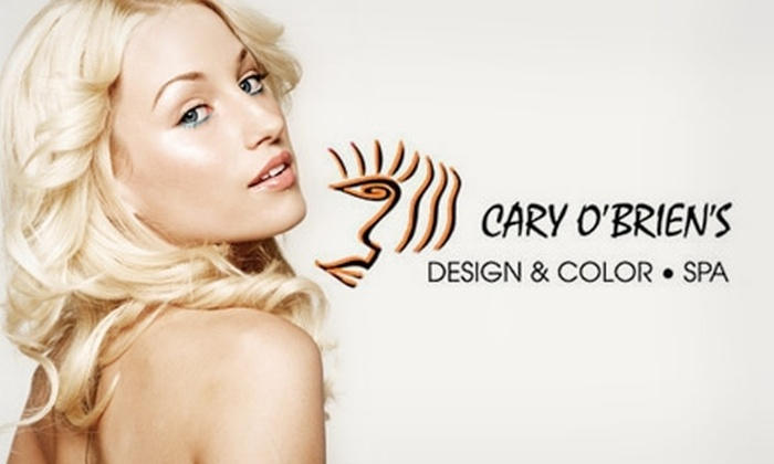 Cary O'Brien's Design & Color Spa - Saint Charles: Spa Package from Cary O'Brien's Design & Color Spa. Choose From Two Options. (Up to a $255 Value)