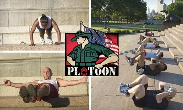 Platoon Outdoor Fitness - Bryn Mawr: $25 for Two Weeks of Unlimited Access to Platoon Outdoor Fitness Classes ($50 Value)