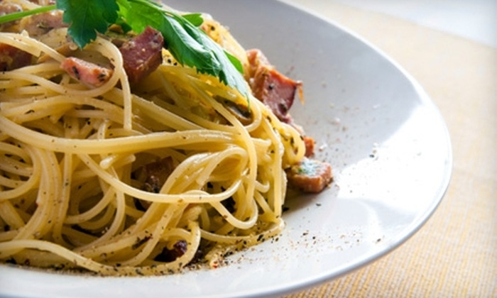 Euro Bistro - Providence: $10 for $30 Worth of Italian Cuisine and Drinks ($20 Worth if Redeemed Friday or Saturday) at Euro Bistro