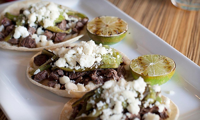 Barrio Tacos and Tequila - Birmingham: Three-Course Dinner for Two or Four or $20 for $40 Worth of Mexican Fare at Barrio Tacos and Tequila in Birmingham
