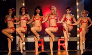 Ruby Revue: The Ruby Revue Burlesque Show on Saturday, October 31, at 8 p.m. or 10:30 p.m.