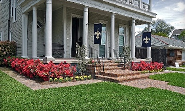 Big Easy Lawn - Garden District: $80 for Four Weekly Landscaping Services from Big Easy Lawn ($169 Value)
