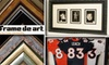 Frame de Art - Englewood: $40 for $100 Worth of Custom Framing at Frame de Art in Englewood