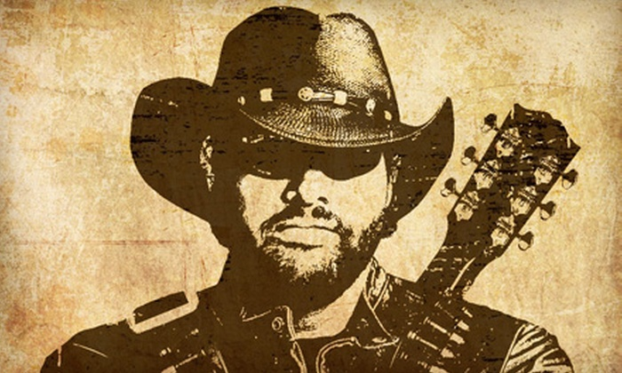 Toby Keith - Darien Center: One Ticket to See Toby Keith at Darien Lake Performing Arts Center on September 4 at 7 p.m.