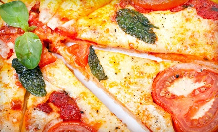 $26 for Two Groupons, Each Good for $22 Worth of Food at Santa Monica Pizza & Pasta Co. ($44 Value)
