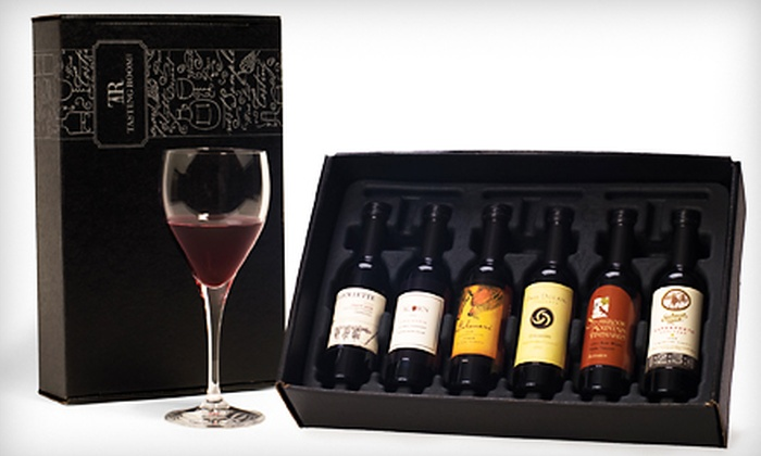 Tastingroom. Com wine club review: wine tasting kit.
