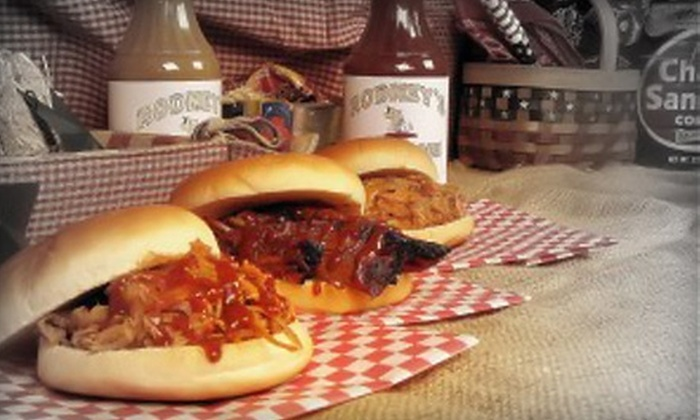 Rodney's BBQ and Catering - Huntsville: $7 for $15 Worth of Barbecue Eats and Drinks at Rodney's BBQ and Catering