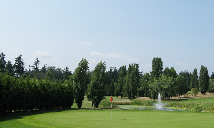 Royal Oak Golf Club - Victoria: Nine-Hole Round of Golf for Two or Four with Cart Rental at Royal Oak Golf Club (Up to 54% Off)