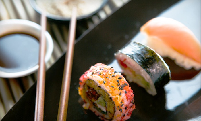 Sushi Central Lounge - Multiple Locations: $35 for a Three-Course Dinner for Two at Sushi Central Lounge in Coconut Grove (Up to $77 Value)