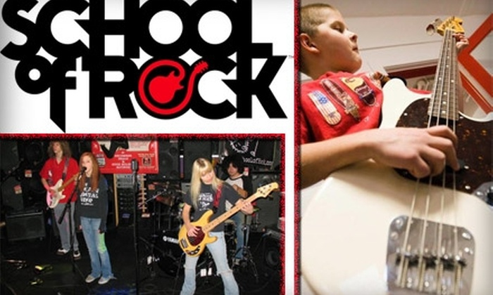 School of Rock - Sandy: $59 for One-Month Tuition at School of Rock (Up to $275 Value)