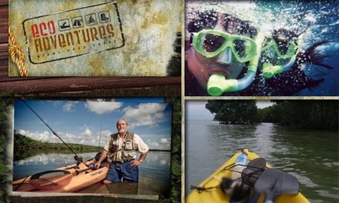 EcoAdventures - Miami: $40 for a Sea Kayak and Snorkel Adventure from EcoAdventures