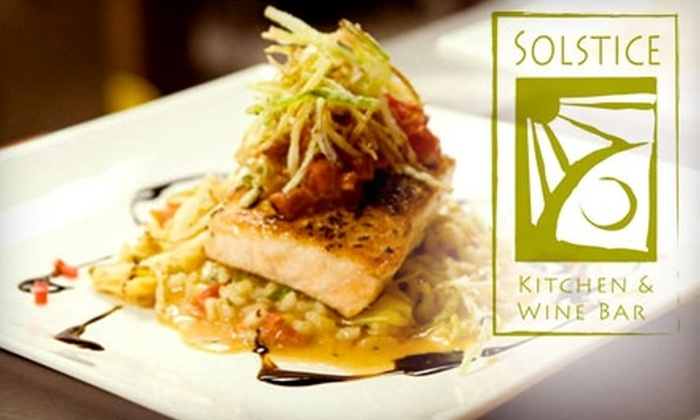Solstice Kitchen & Wine Bar - Northeast Arcadia Lakes: $20 for $40 Worth of Contemporary American Dinner Cuisine at Solstice Kitchen & Wine Bar