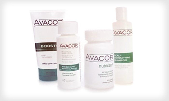 Avacor: Hair-Regrowth Package or Hair-Regrowth and Hair-Loss-Prevention Products from Avacor