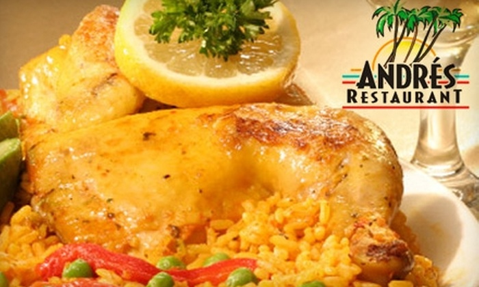 Andres Restaurant - Morena: Up to 57% Off Dining at Andrés Restaurant. Choose from Two Options.