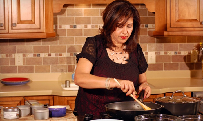 """White Jasmine Everyday Cooking"" - Allen Kitchen and Bath: Admission for Two or Four to Taping of ""White Jasmine Everyday Cooking"""