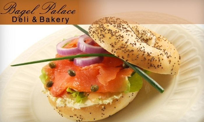 Bagel Palace - Atlanta-Decatur: $10 for $20 Worth of Homemade Bagels and More at Bagel Palace