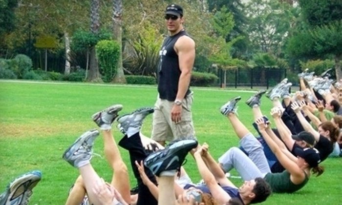 Boot Camp LA - Mid-Wilshire: Two Weeks or One Month of Outdoor Boot-Camp Classes from Boot Camp LA (80% Off)