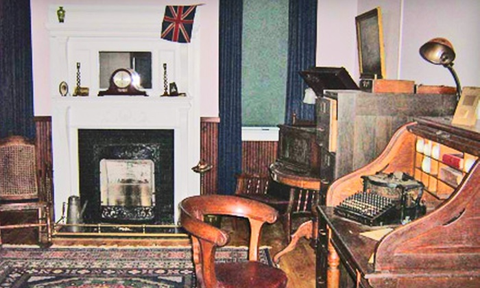 Admiralty House Museum & Archives - Mount Pearl: Two or Four Admissions to Admiralty House Museum & Archives