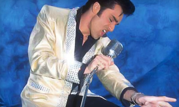 """""""Spirit of the King"""" - Back Bay: $17 for Elvis Tribute """"Spirit of the King"""" Lower Orchestra Seat January 7 at Back Bay Events Center ($35 Value)"""