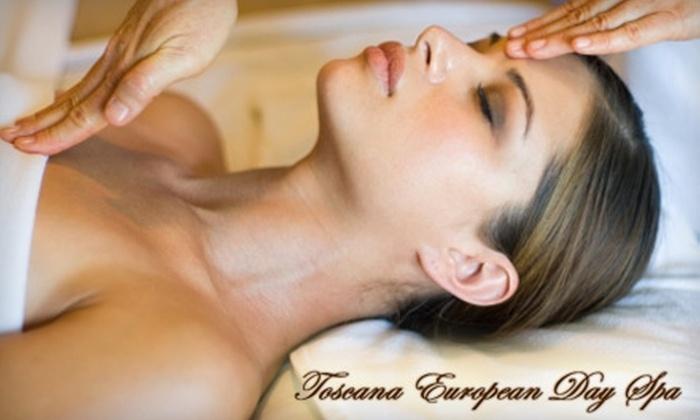 Toscana European Day Spa - Back Bay: $79 for a Massage and Facial Package at Toscana European Day Spa