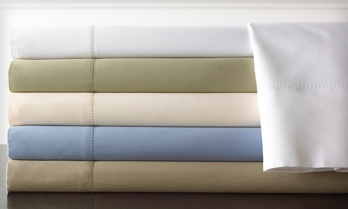 1,000-TC Symphony Egyptian-Cotton Sheet Set: Wrinkle-Free Symphony 1,000-TC Egyptian-Cotton Rich Sheet Set ($199.99 List Price). 15 Options Available. Free Shipping and Returns.