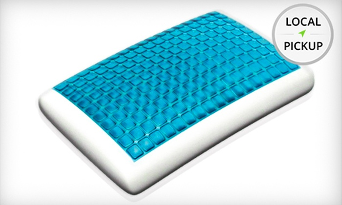Back to Bed - South Loop: $90 for a Standard-Size Technogel Deluxe Pillow at Back to Bed ($169 Value). Pick Up in Store.