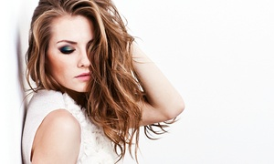 Shear Impressions: Women's Haircut and Blowout with Options for Highlights or Color at Shear Impressions (Up to 70% Off)