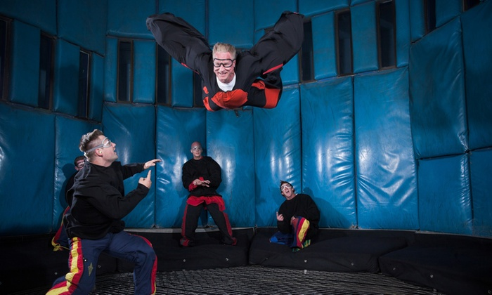 Vegas Indoor Skydiving - The Strip: $125 for a Flight for Two with One DVD at Vegas Indoor Skydiving ($175 Value)