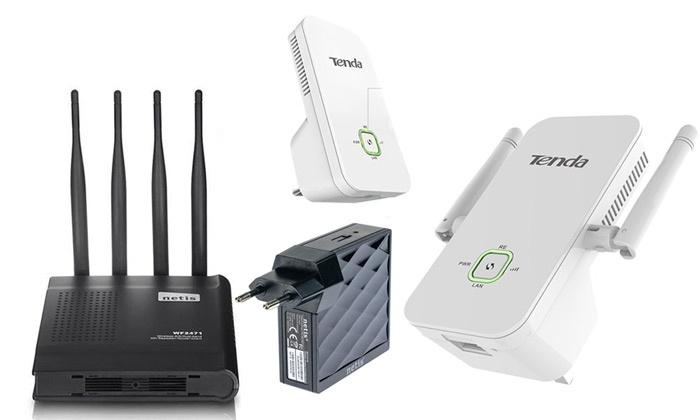 מגדיל טווח אינטרנט אלחוטי לחיבור מהיר של מחשבים, טאבלטים וסמארטפונים בבית ובמשרד, החל מ-105 ₪