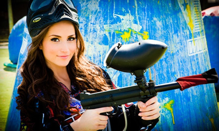 Paintballtickets.com - Multiple Locations: $30 for an All-Day Outing for Six with Equipment Rental from Paintballtickets.com (Up to $132 Value)