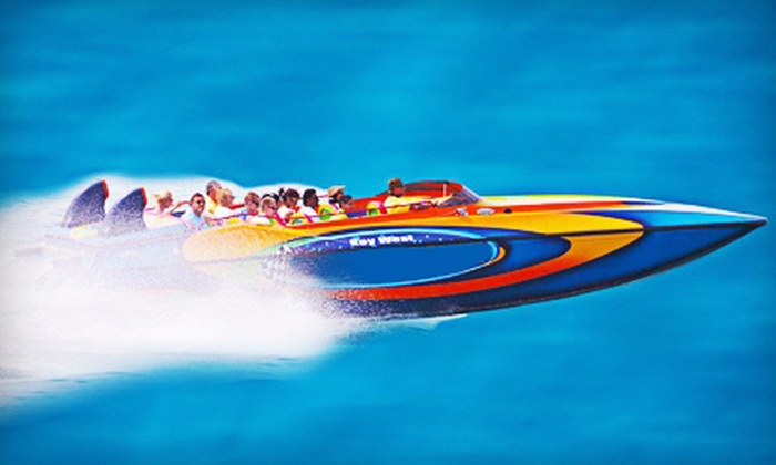USA Powerboat Tours - Key West: $24 for Speedboat Tour of Key West from USA Powerboat Tours ($49 Value)