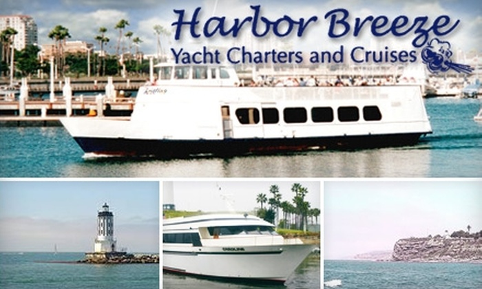 Harbor Breeze Cruises - Long Beach: $6 for One Long Beach Harbor Tour Ticket ($12 Value) or $15 for One Ticket on the Urban Ocean: World Port and Sealife Cruise ($29.95 Value) from Harbor Breeze Cruises