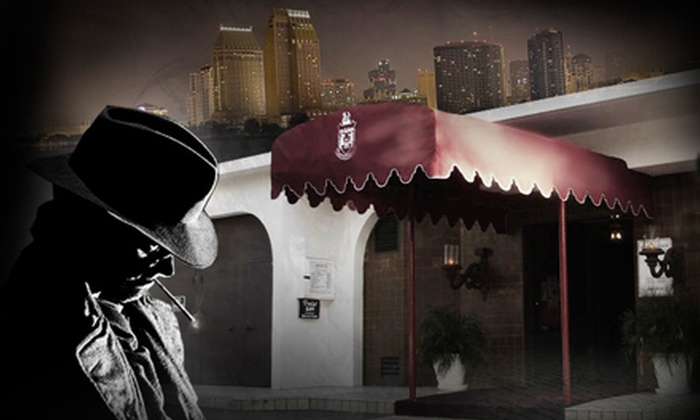 Mystery Cafe Dinner Theater - Park West: $69 for a Murder-Mystery Dinner for Two and a Pair of Keepsakes at Mystery Cafe Dinner Theater ($129 Value)