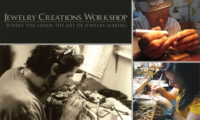 Jewelry Creations Workshop - Upper East Side: $45 for Two Three-Hour Beginners' Jewelry-Making Classes at Jewelry Creations Workshop