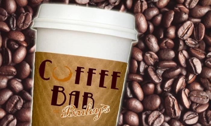 Coffee Bar @Bailey's - Sanibel: $5 for $10 Worth of Java at Coffee Bar @Bailey's on Sanibel Island