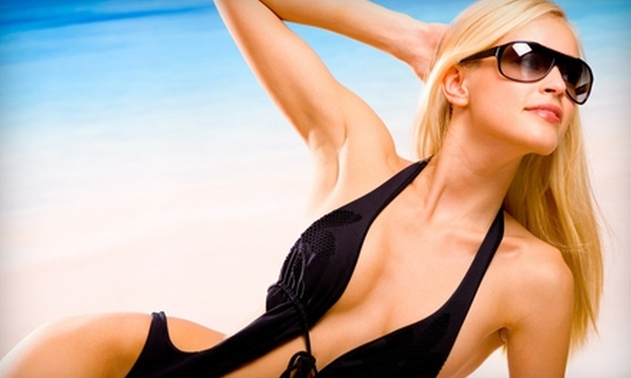 Body FX Tanning - Multiple Locations: Three Bed Tanning Sessions or Four Mystic Tan Spray Sessions at Body FX Tanning