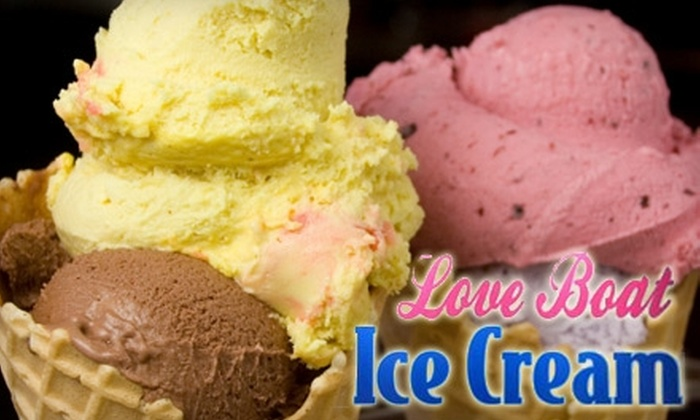 Love Boat Ice Cream - Fort Myers: $5 for $10 Worth of Homemade Ice Cream Treats at Love Boat Ice Cream