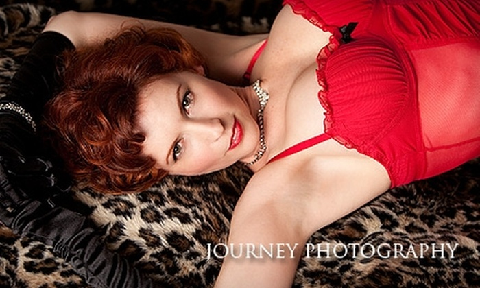 Journey Photography - Palm Valley: $59 for a Boudoir Photo Shoot With Five Digital Images and Two Weeks Online Hosting at Journey Photography ($200 Value)