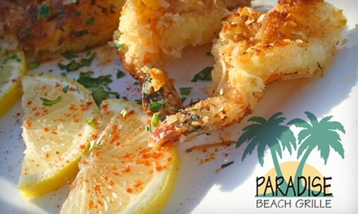 Paradise Beach Grille - Capitola: $20 for $40 Worth of Tropical-Fusion Fine Dining at Paradise Beach Grille