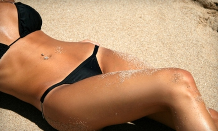 Tropical Resort Tans - Multiple Locations: $20 for $40 Worth of Tanning Services at Tropical Resort Tans