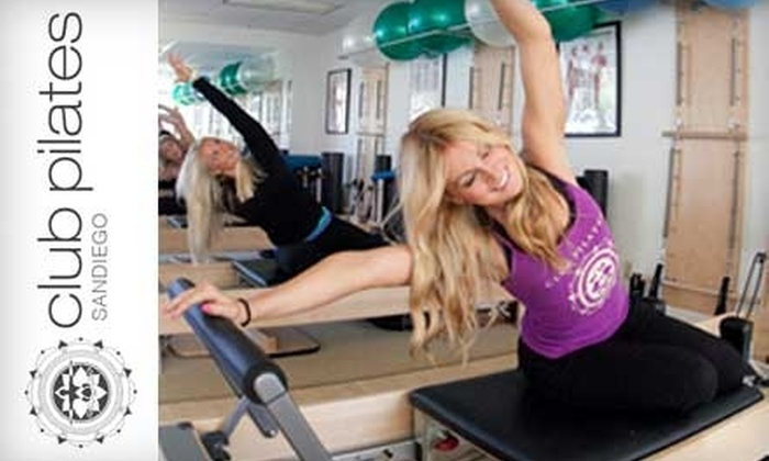 Club Pilates San Diego - Bay Ho: $45 for Six Classes at Club Pilates San Diego (Up to $140 Value)