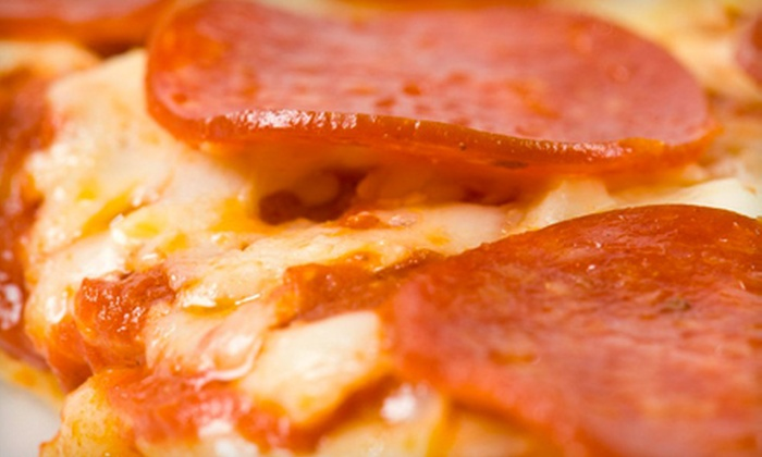 Sophie's Pizza - Airdrie: $15 for a 12-Inch Pizza Meal with Choice of Side and Pop from Sophie's Pizza in Airdrie (Up to $33.90 Value)