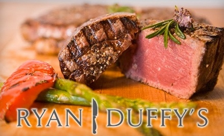 Ryan Duffy's Steak & Seafood: $50 Groupon for Dinner Fare - Ryan Duffy's Steak & Seafood in Halifax
