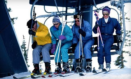 Skiing/Snowboarding Package - Woodbury Ski Area in Woodbury