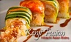 Kenji Fusion - Colliseum Central: $15 for $30 Worth of Fusion Dinner Fare and Drinks at Kenji Fusion in Hampton (or $7 for $15 Worth of Lunch)